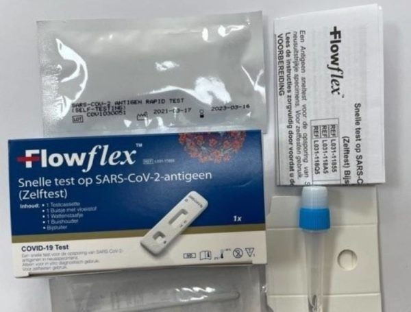 Acon FlowFlex SARS-CoV-2 Antigen Corona Rapid Test (næse)